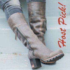 HP🎉SOREL Addington Tall Waterproof Boot Women NEW